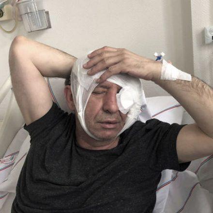 Yavuz Selim Demirağ'a yapılan saldırının görüntüleri ortaya çıktı!