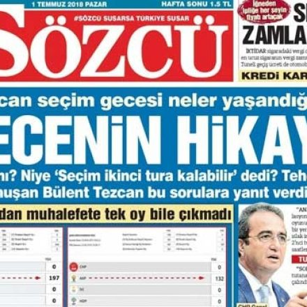Erdem Gül için verilen karar Sözcü Gazetesi için de verilir mi?