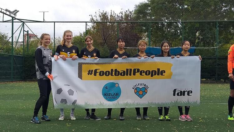 4. Kızlar Sahada Gençlik Kupası'nda kazananlar belli oldu