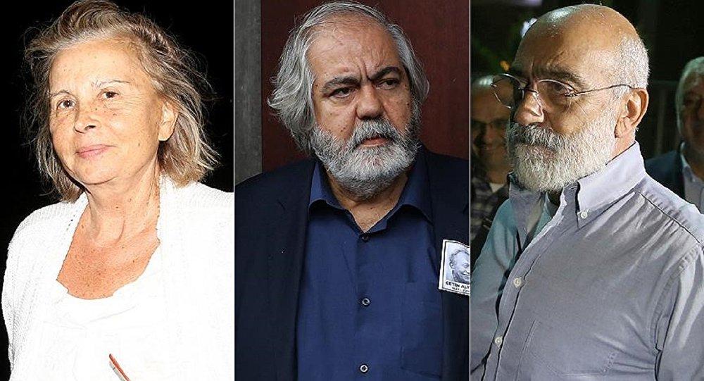 Nazlı Ilıcak ve Ahmet Altan tahliye edildi, Mehmet Altan beraat etti