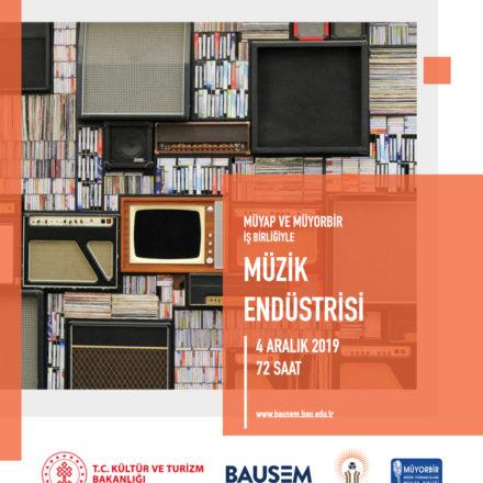 MÜYORBİR ve MÜ-YAP'ın desteğiyle 'Müzik Endüstrisi Sertifika Programı' başlıyor