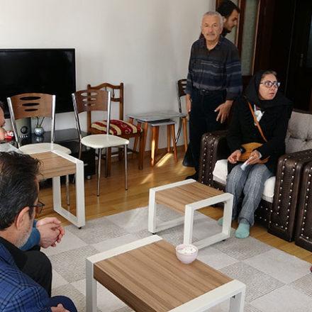 Özgecan Aslan'ın ailesi Ceren'in ailesini ziyaret etti