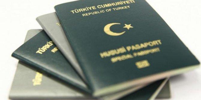 Yeşil ve gri pasaportlara 'muafiyet' sınırlaması!