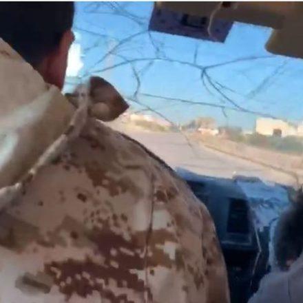 Gazeteciliğin zor anları! Habertürk ekibi Libya'da saldırıya uğradı! İşte o anlar!