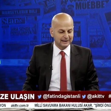 """Akit TV'de şok diyalog: """"Toplanıp Cumhuriyet gazetesinin önüne el bombası atalım"""""""