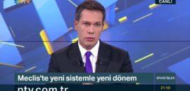 NTV sunucusunun acı günü…