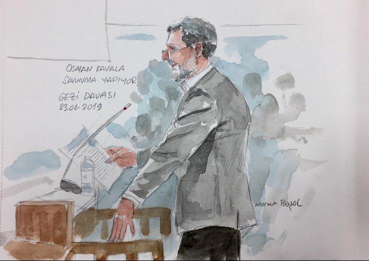 Gezi Davası'nda 5. duruşma bugün görülüyor! Davanın tek tutuklu sanığı Osman Kavala