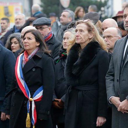 Charlie Hebdo saldırısında ölenler anıldı…
