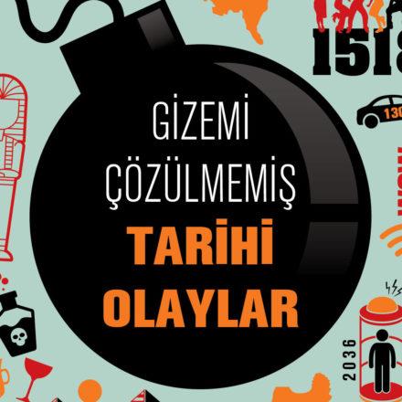 'Gizemi Çözülmemiş Tarihi Olaylar' raflarda!