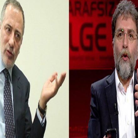 """Ahmet Hakan'dan Fatih Altaylı'ya cevap: """"Selahattin Demirtaş, bizim ekranımızda saz çalıp türkü söylerken…"""""""