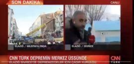 CNN Türk muhabirine karikatürlü bir tepki daha! Çinliler sıcacık evlerinde karantina altında ve mutlular!