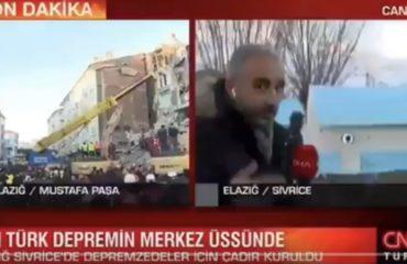 """Deprem bölgesinde 'Mutlu musunuz' diye soran CNN Türk muhabirinden açıklama: """"Gazetecilik refleksiyle sordum"""""""