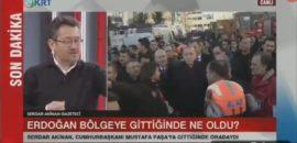 Serdar Akinan'ın sözleri ortalığı karıştırdı, Valilik soruşturma başlattı! Enkazdaki yaralıyı Cumhurbaşkanı Erdoğan için beklettiler mi?