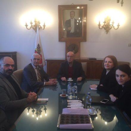 """CHP Milletvekili'nden gazetecilere ziyaret: """"Sorunlarınızı takip ediyoruz"""""""