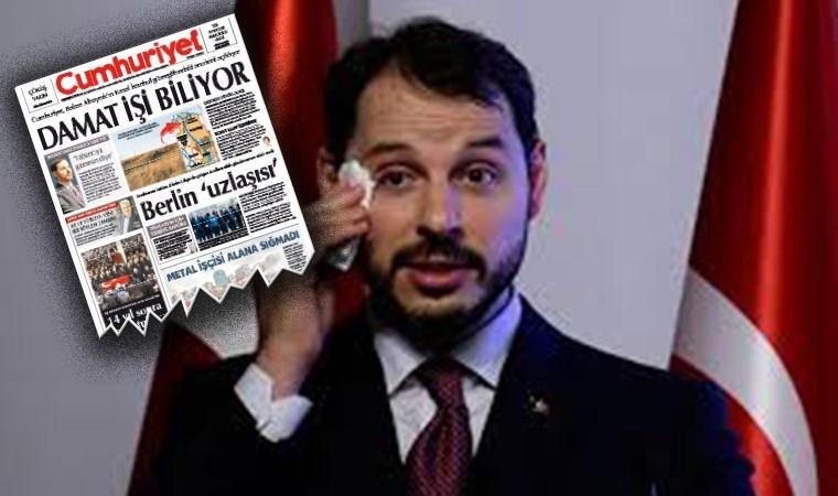 Önce erişim engeli şimdi de soruşturma! Berat Albayrak'ın arazisini habere yapan Cumhuriyet muhabirine soruşturma açıldı!