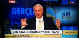 Gazeteci Can Ataklı hakkında soruşturma hakaretten soruşturma başlatıldı! Ataklı ise, Cumhurbaşkanı Erdoğan'ın doğum gününü kutladı!