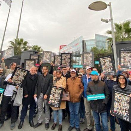 Hukuk mücadelesi başlıyor! İşten çıkartılan Hürriyet çalışanlarının ilk duruşması yarın görülecek!