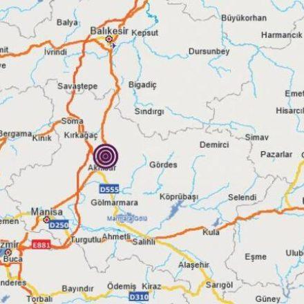 Sarsıntılar sürüyor! Manisa'daki deprem İzmir, Bursa ve İstanbul'da da hissedildi!